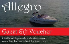Hamble Power Boat Charters Gift Voucher