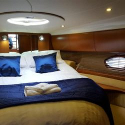 Allegro Forward Bedroom Hamble Powerboat Charters