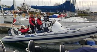 ribeye 650 sport with crew boatability and Hamble Powerboat Charters