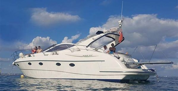 Allegro at Seaview Hamble Powerboat Charters