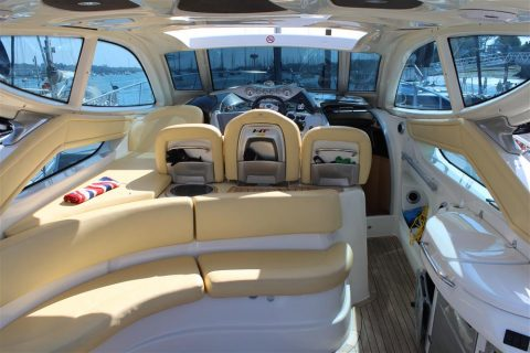 Endeavour Helm Hamble Powerboat Charters