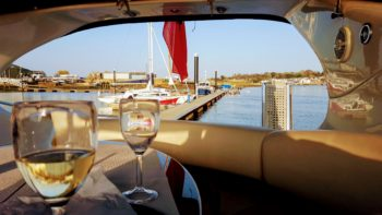 River Cruise on Allegro with Hamble Powerboat Charters