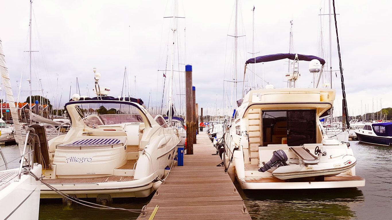 The Hamble Powerboat Charters Fleet